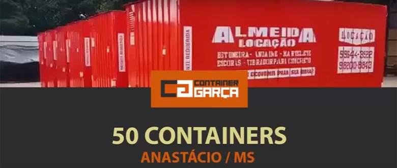 Container Mato Grosso do sul